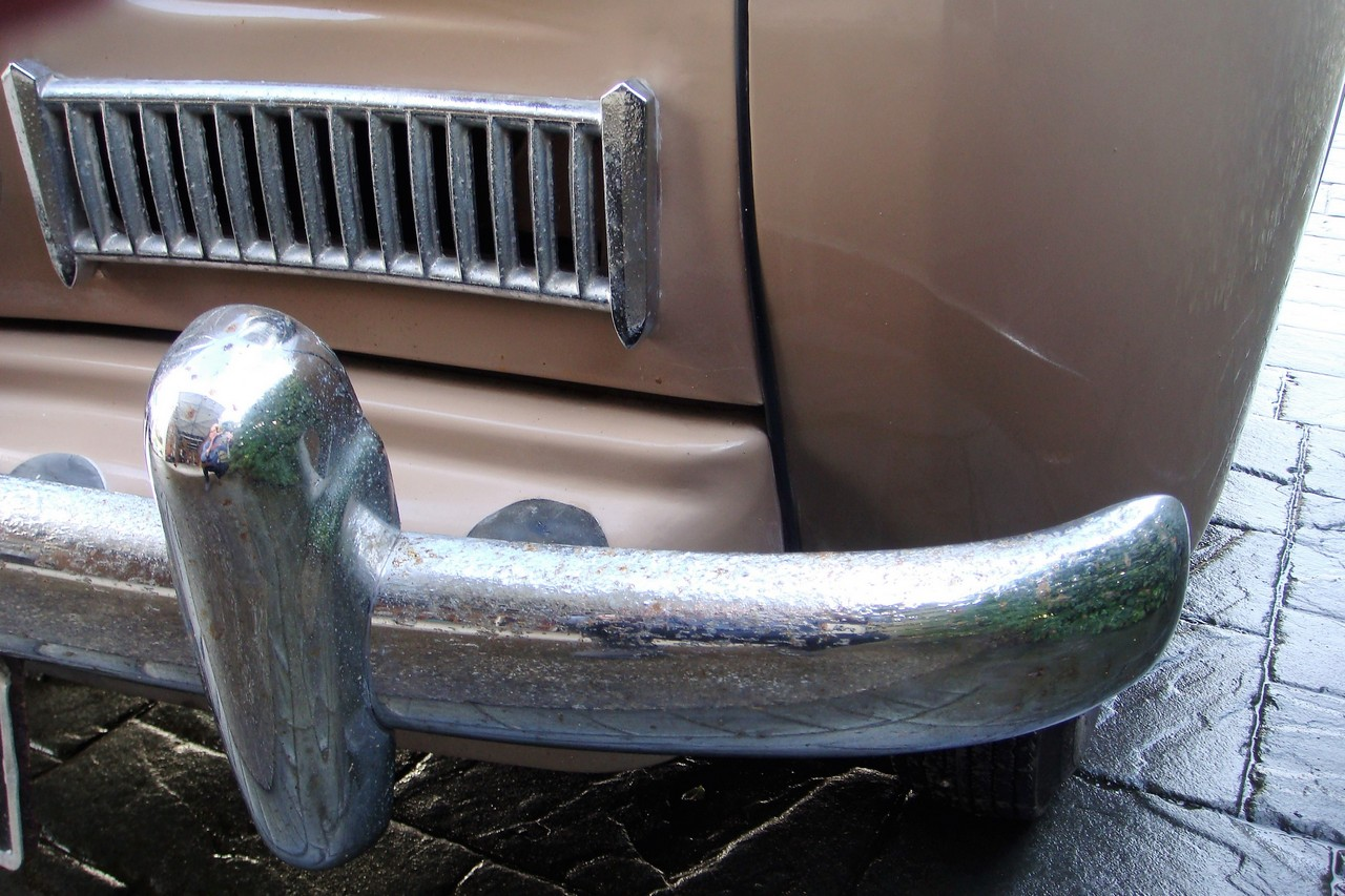 Rechromed Classic Car Bumpers