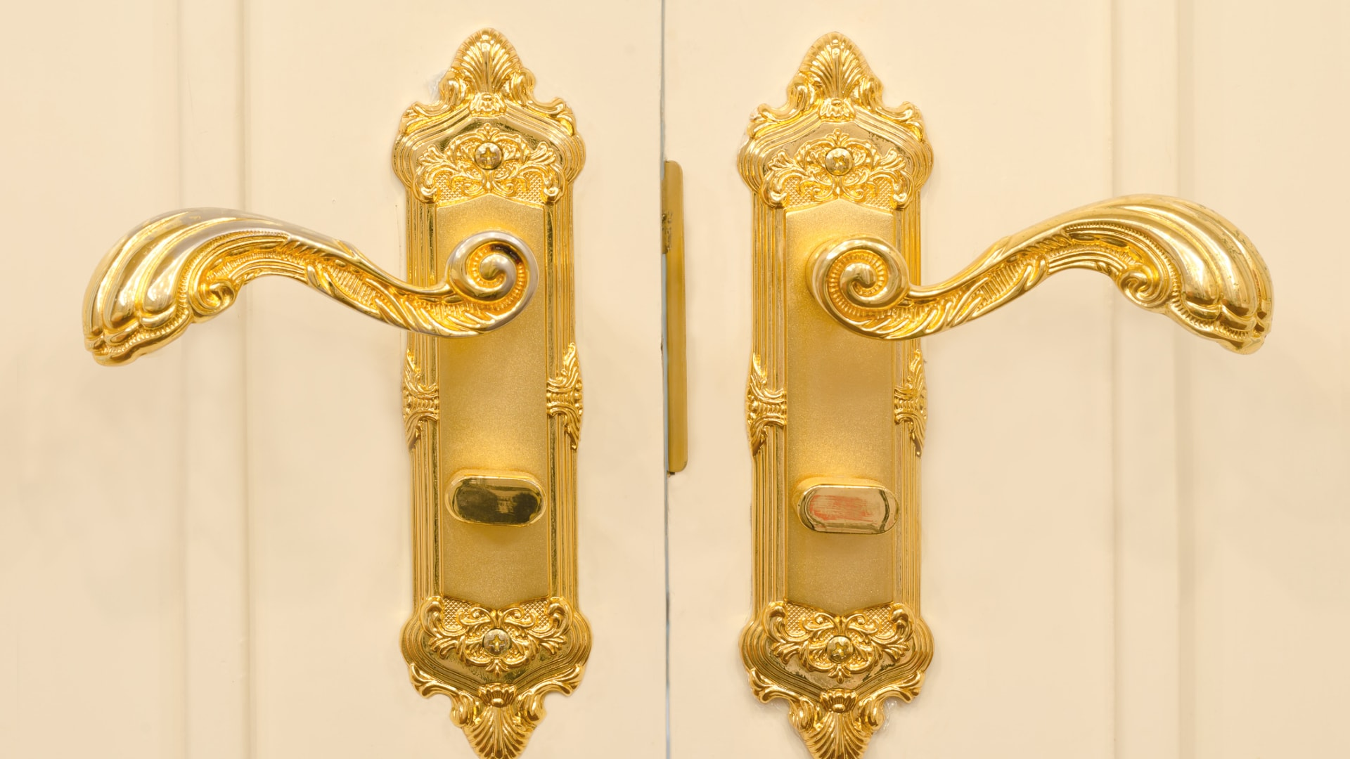 Update door handles in Chrome, Gold or Nickel - Ashford